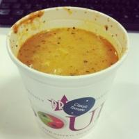 Pret's tomato soup