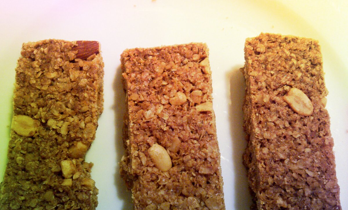 Home made energy bars & why I'm running the London Marathon